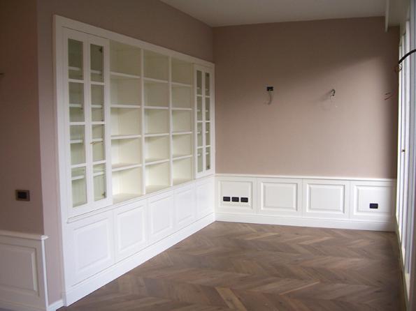 Librerie e scaffali in legno l 39 arte del legno - L arte del bagno ...
