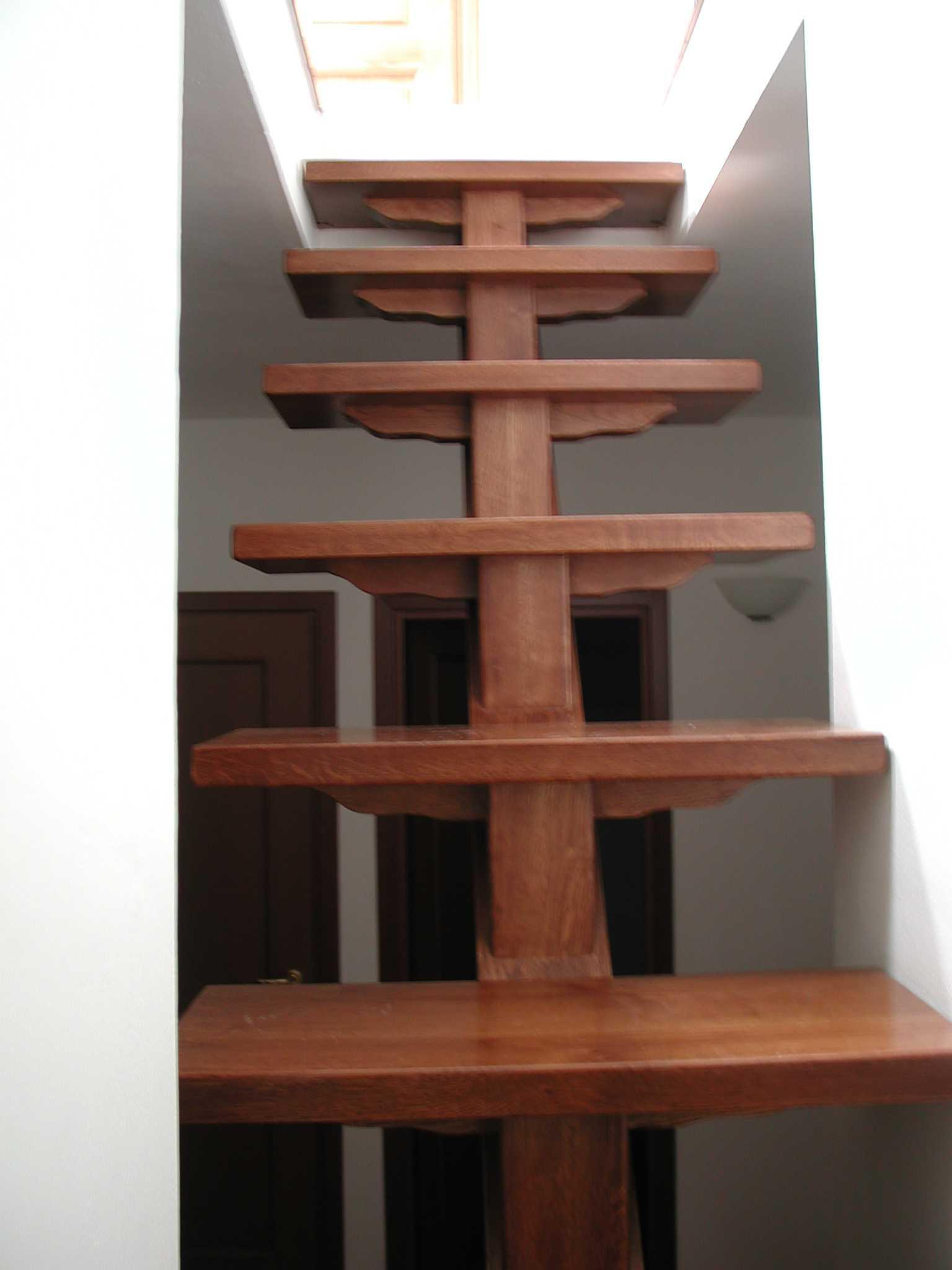 Scale e soppalchi in legno l 39 arte del legno - Legno per scale ...
